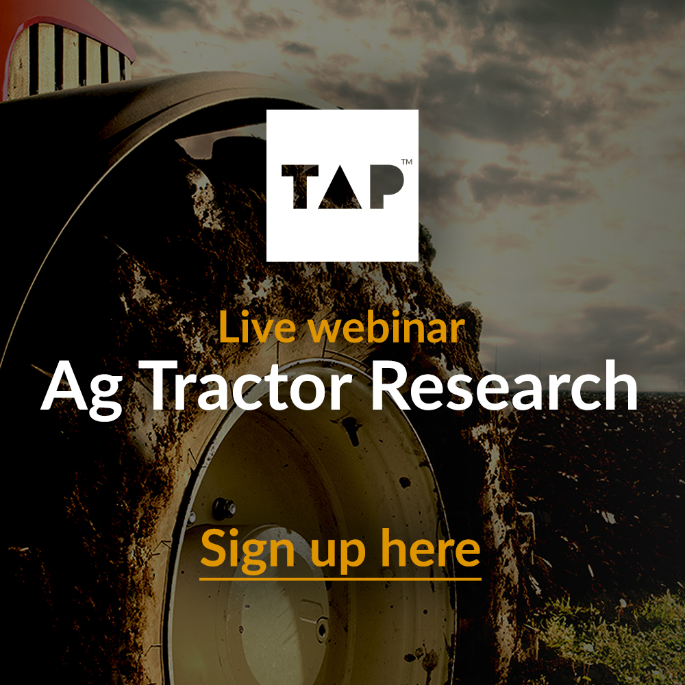 Ag Tractor Research Webinar Signup 2020